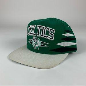 Boston Celtics NBA Mitchell & Ness SnapBack Hat